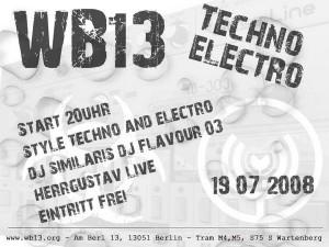 electro night 10.07.08