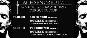 Flyer Konzert Woyzeck