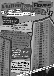 Programm Oktober - Plattenbau Favour