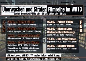 Überwachen & Strafen Filmreihe