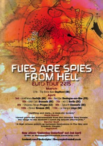 flies are spies from hell poster FINAL WEB